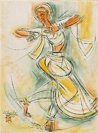 bharata natyam dancer by shiavax chavda