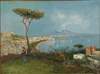 view of sorrento by edwardo scognamiglio