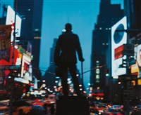 george m. cohan statue, time square by jack pierson