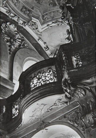 baroque interior from the prague churches cycle by jaromir funke