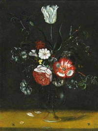 vase de fleurs by jacob woutersz vosmaer