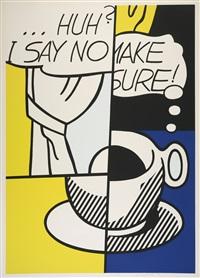 ... huh by roy lichtenstein