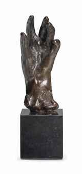 main gauche no 35 petit modèle by auguste rodin