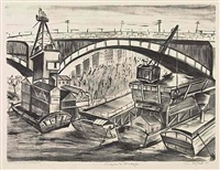 barges and bridges by riva helfond