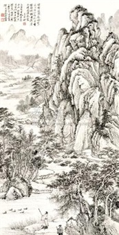 山水 by liu yanshui