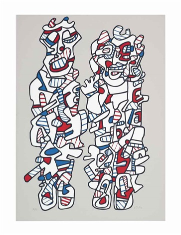 délègation by jean dubuffet