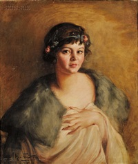 portrait of flora by marietta cotton
