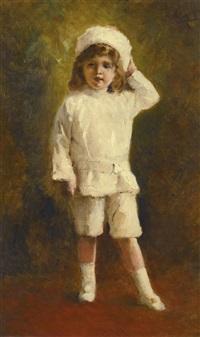 portrait of the tsesarevich alexei nikolaevich by konstantin egorovich makovsky