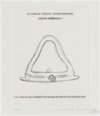 un robinet by marcel duchamp