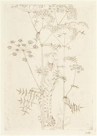 sammelnummer von 16 blatt graphik (+ 4 others; 20 works) by hans (fis) fischer
