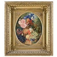 natura morta con fiori e frutta by j. v. bailey