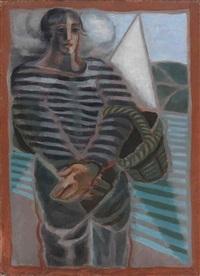 le pêcheur by juan gris