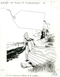 théodore poussin - un passager porté disparu by frank le gall