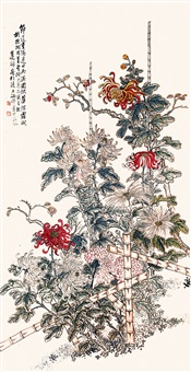 chrysanthemum by lian chan