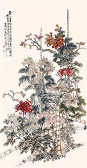 重阳秋华 (chrysanthemum) by lian chan
