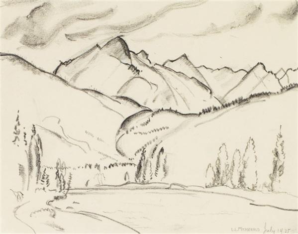 Mountain View By Lionel Lemoine Fitzgerald On Artnet