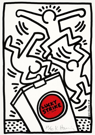 pl4 from lucky strike by keith haring