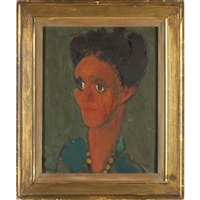 portrait of a woman by janice biala