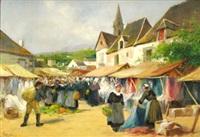 marché en bretagne by paul pascal