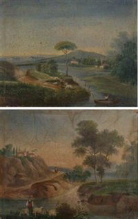 paisaje (+ another; pair) by josé atienza murillo