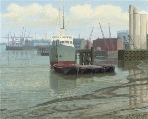 blackwall reach and cable ship 2 others 3 works by anne e christopherson
