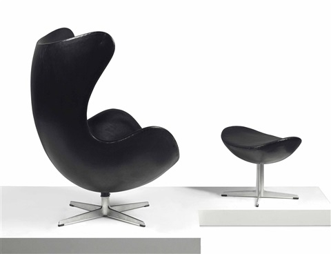 Egg Lounge Chair And Ottoman By Arne Jacobsen