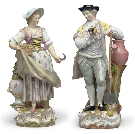 gardener companion pair by michel victor acier