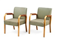 armchair 46 (pair) by aino aalto