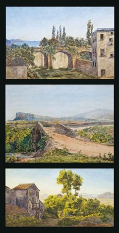 a village on the italian coast 2 others 3 works by salomon corrodi