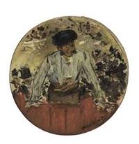 toréador saluant, tambour de basque by édouard manet