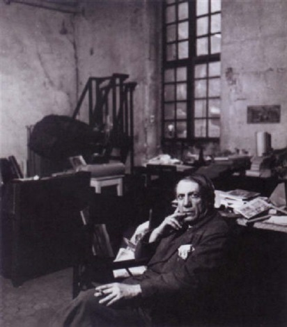 picasso dans son studio rue des grands augustins by peter rose pulham