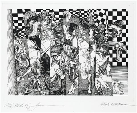 all the kings horses 3 others 4 works by ralph idris steadman