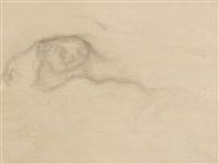 nudo sdraiato by balthus