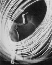 nude and light study by paul heisman