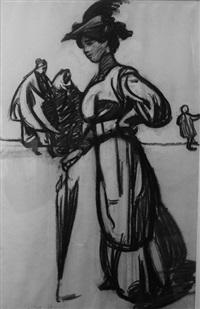 esquisse vénitienne (study; after henri de regnier) by maxime dethomas