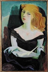 ritratto femminile by heinz battke