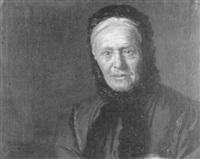 porträt einer alten dame by teodoro andreu y sentamans