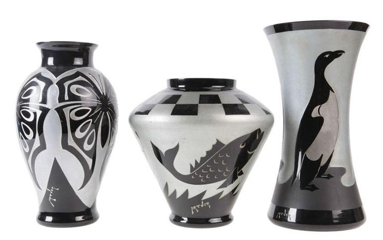 Vases Set Of 3 By Artver On Artnet