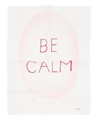 be calm by louise bourgeois
