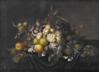 herbstliches früchtestillleben by johannes borman