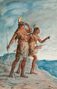 indian scouts, arizona by julian scott