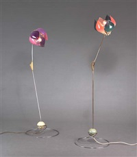 symanka - sy 1 stehlampe (+ another; pair) by günter ssymmank