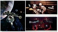 2001: l'ddyssée de l'espace (7 works) by stanley kubrick