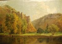 bord de cours d'eau en ardennes by gilbert maurice hubin