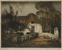 the old drostdy, swellendam by william mitcheson timlin