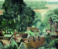montigny-sur-loing by anne carlu
