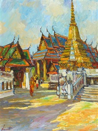 temple of the emerald buddha by noparat livisiddhi