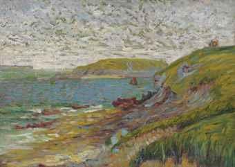 saint-briac, l'ile agot by paul signac