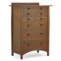 nine-drawer dresser by harvey ellis