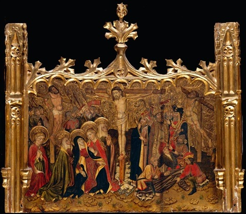 the crucifixion by ramon solà the younger